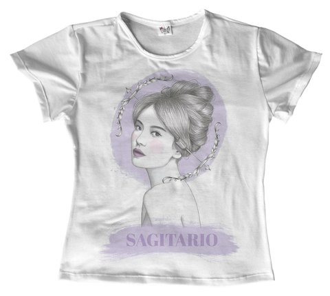 T shirt - Signo - Sagitario 02 na internet