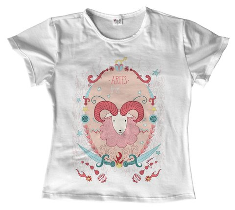 T shirt - Signo - Aries 04 na internet