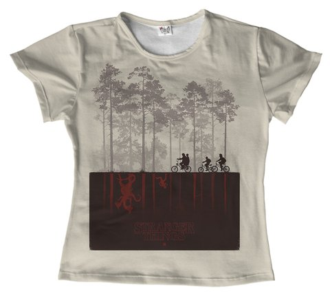 T shirt - Stranger Things 01
