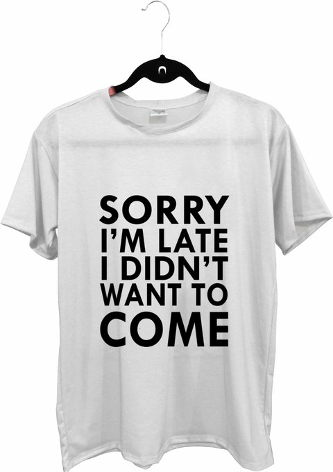 Tee max - Tumblr - I didnt want to come - comprar online