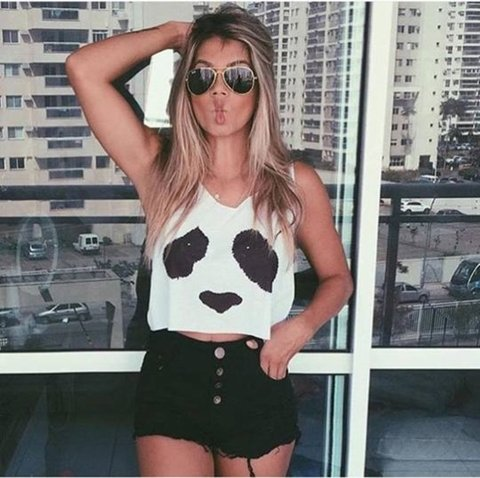 Top Cropped - Urso Panda