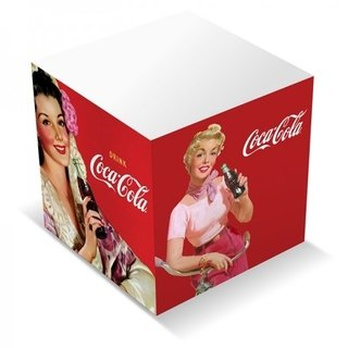 Bloco de Notas Coca Cola Pin Up