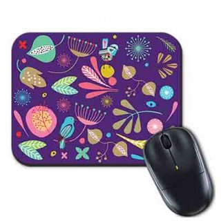 Mouse Pad Floral Tropical