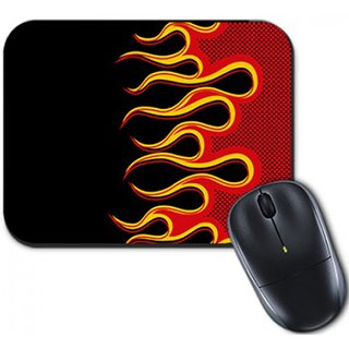 Mouse Pad Flame