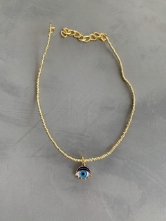 Choker Gold Slim Eye  - comprar online