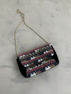 Cartera bordada Velvet