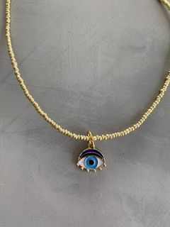 Choker Gold Slim Eye