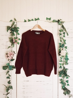 Sweater aleli bordeaux