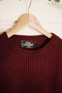 Sweater aleli bordeaux - Aire Molino