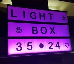 Light Box Multicolor