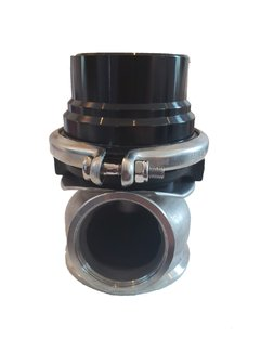 Valvula Wastegate 60mm FTX Fueltech Negra - HFIperformance