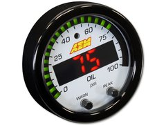 Reloj Presion de combustible aceite Aem X-series - HFIperformance