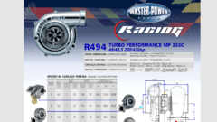 Turbo Master Power Racing R494/1 (200-430 Hp) Competición