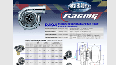 Turbo Master Power Racing R494/2 (200-430 Hp) Competición