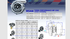 Turbo Master Power Racing R544/1 (270-600 Hp) Competición
