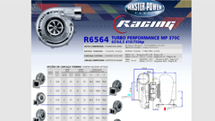 Turbo Master Power Racing R6564/7 (410-750 Hp) Competición