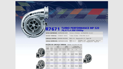 Turbo Master Power Racing R7671/1 (500-1000 Hp) Competición