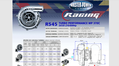 Turbo Master Power Racing R545/1 (270 - 600 HP) Competición