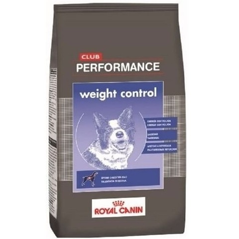 CLUB PERFORMANCE WEIGHT CONTROL x 15 KG - comprar online