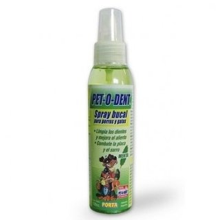 SPRAY BUCAL PET - O - DENT PARA PERROS Y GATOS - DENTIFRICO