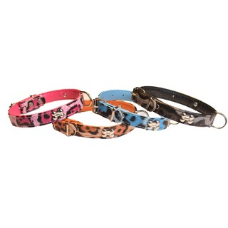 COLLAR ANIMAL PRINT PARA PERROS