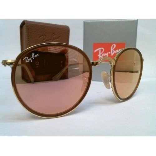 Ray ban round rose dobravel