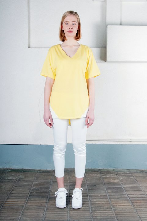 SANTAMADRE Yellow T-Shirt