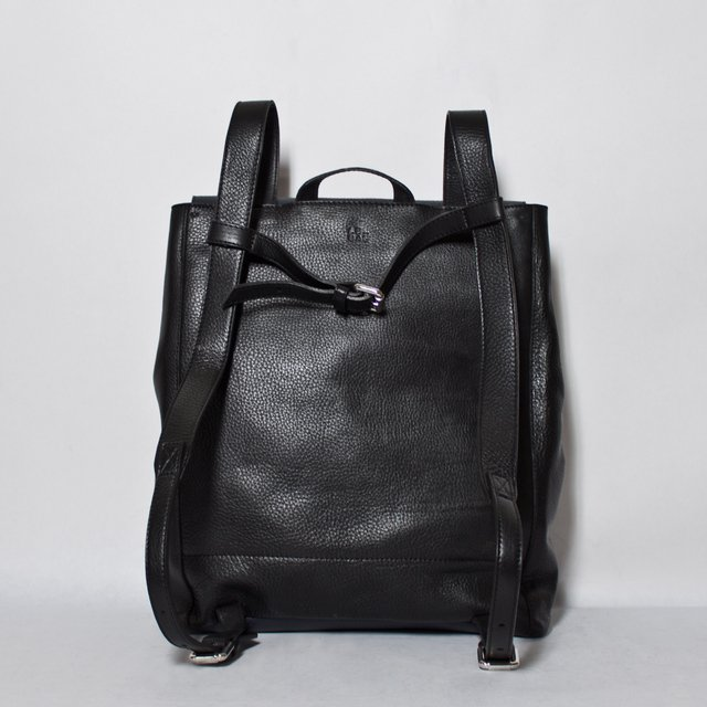 LE BAS Backpack S Navy & Black on internet