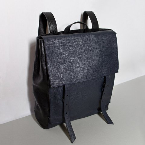 LE BAS Backpack S Navy & Black