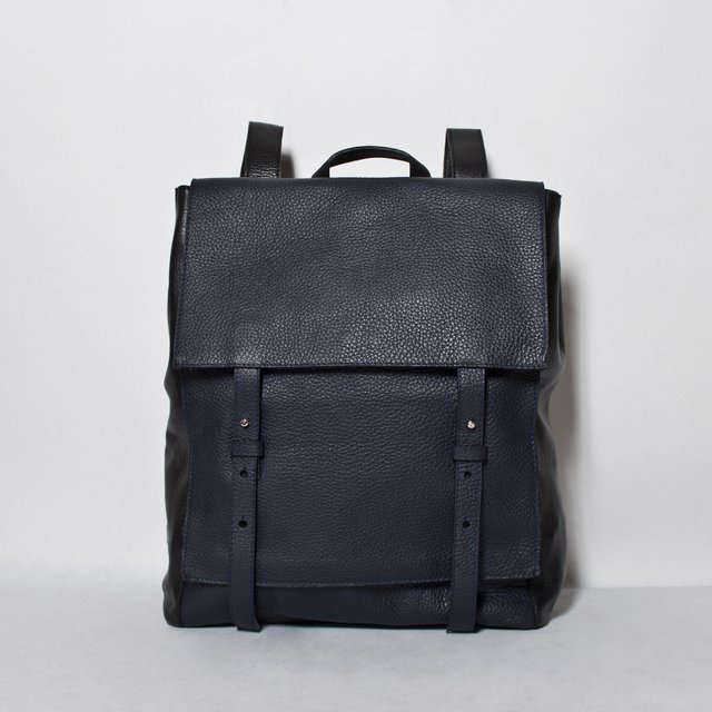 LE BAS Backpack S Navy & Black - comprar online