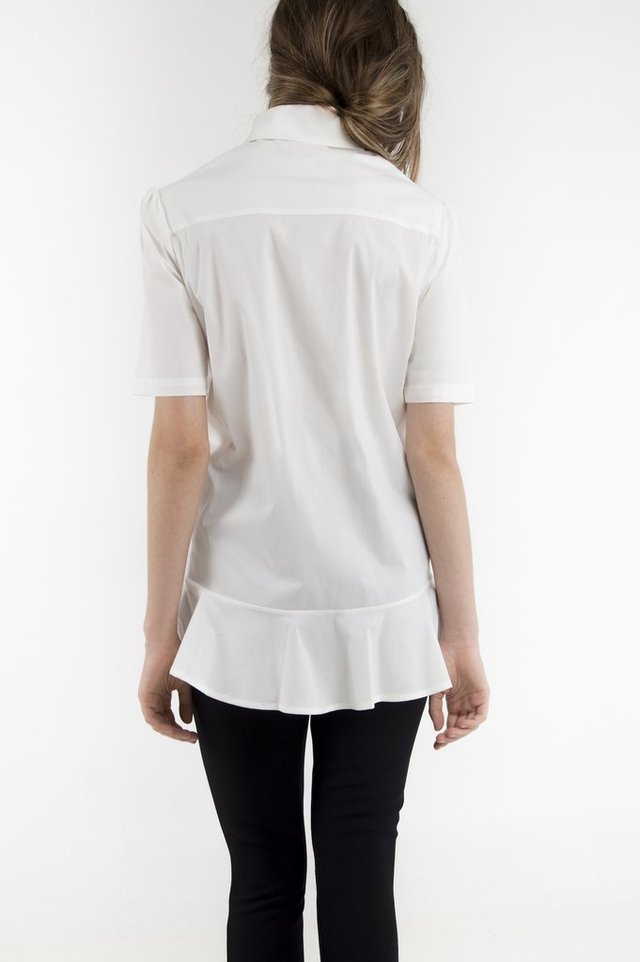 CAMISA HEM WHITE MC X SAMANIEGO - buy online