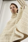 SOL HANDKNITTED CROCHET CAPE