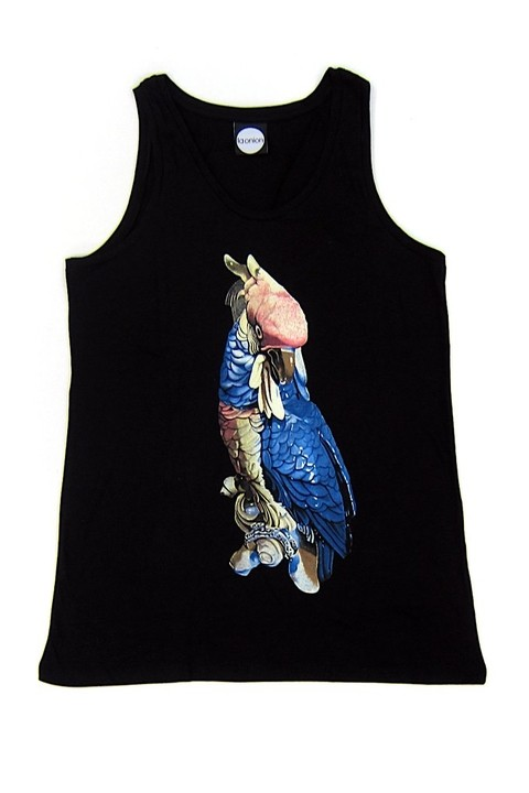 MUSCULOSA CACATÚA N @ SERIE AVE ROC X LA ONION - buy online