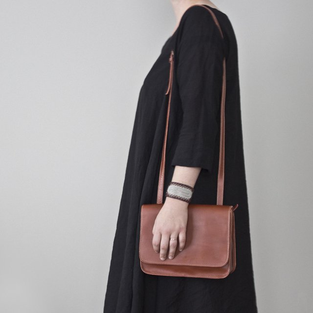 Image of Leather Shoulder S1 Chestnut