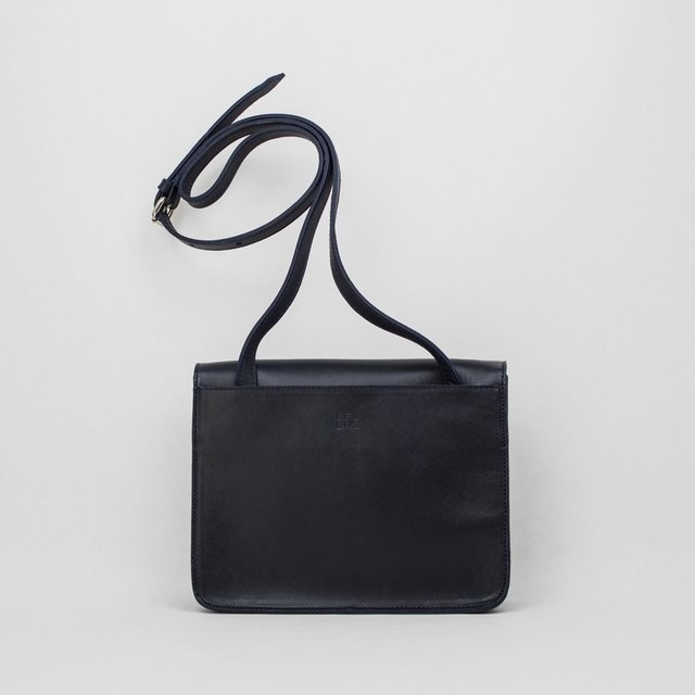 Leather Shoulder S1 Navy - online store