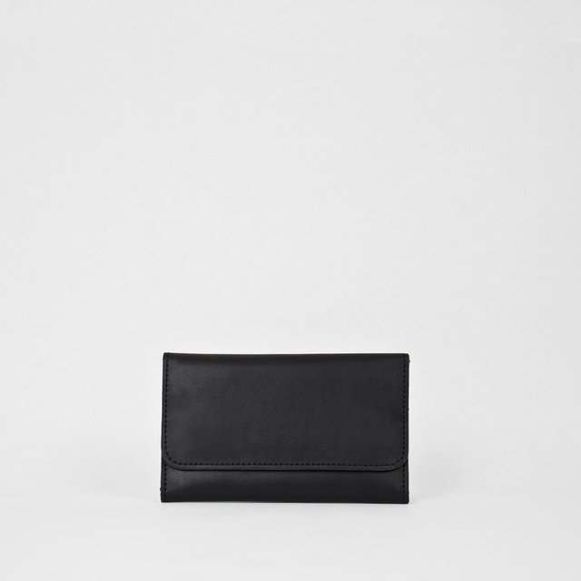 Leather Wallet S Black - buy online