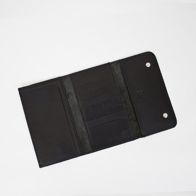 Leather Wallet S Black on internet
