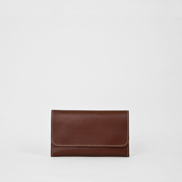 Leather Wallet S Chestnut - buy online