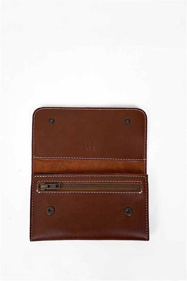 Leather Wallet S Chestnut