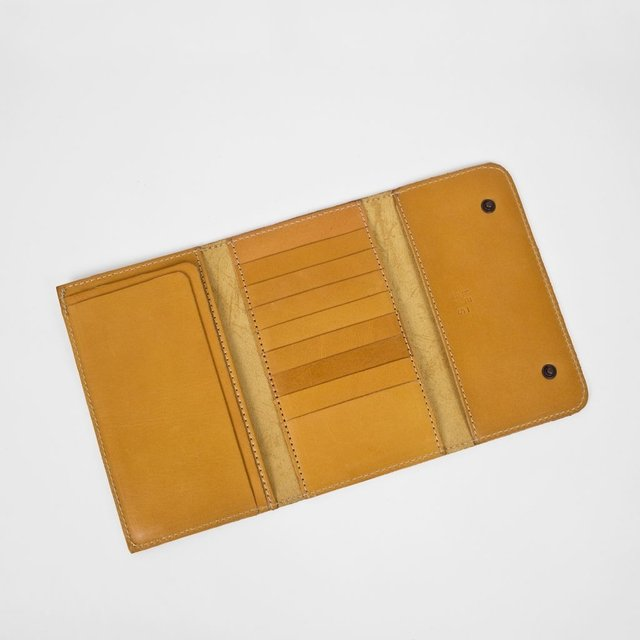 Leather Wallet S Tan on internet