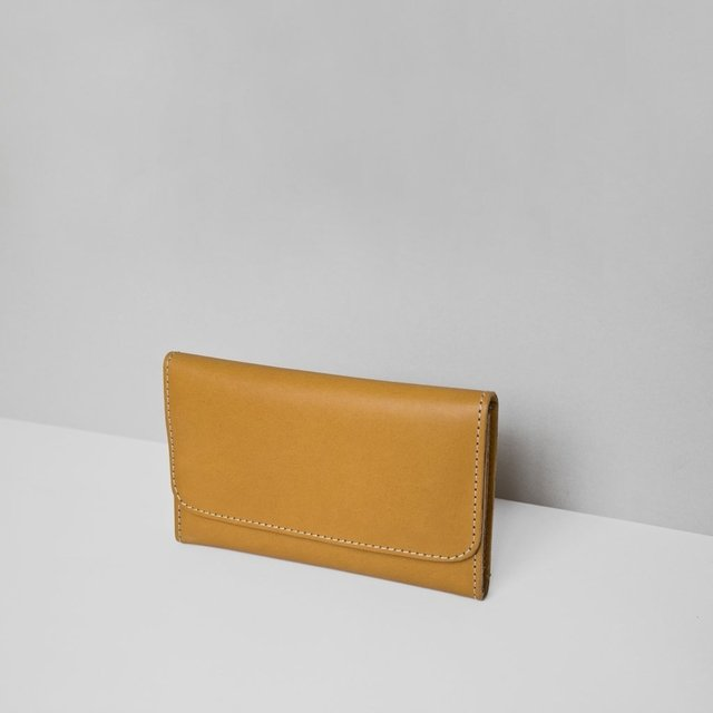 Leather Wallet S Tan - buy online
