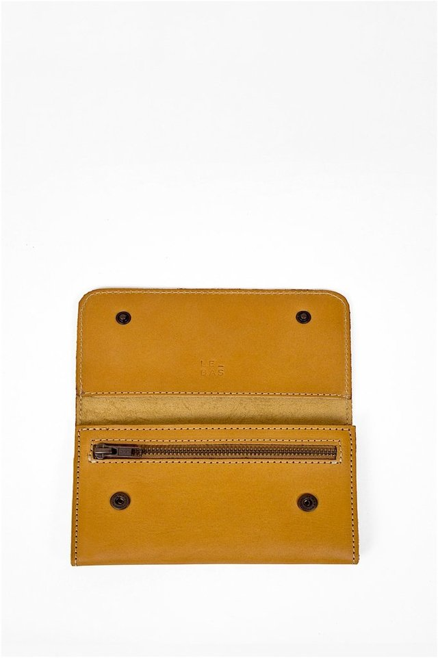 Leather Wallet S Tan