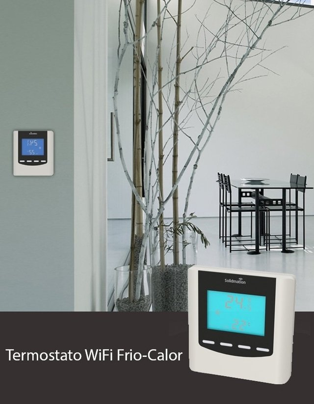 Termostato Inteligente WiFi Frío-Calor