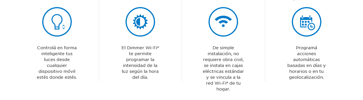 Dimmer WiFi de dos canales