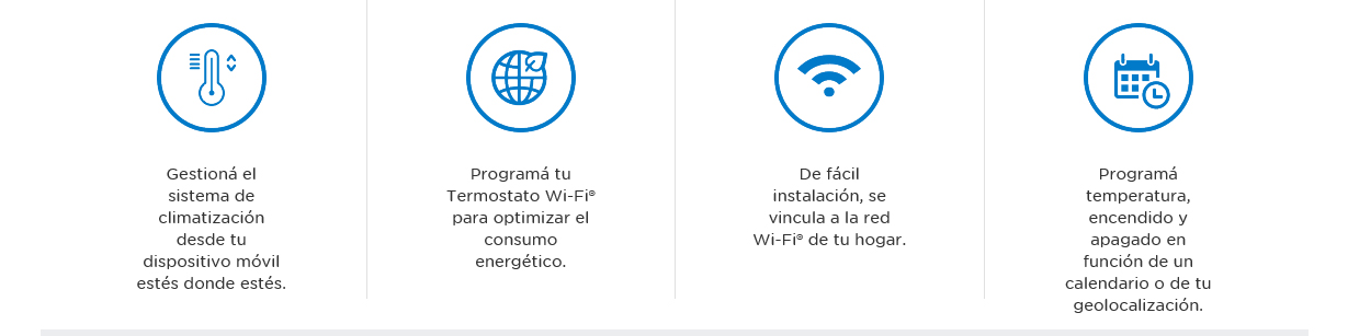 Termostato WiFi Frío/Calor