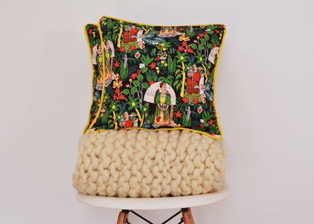 Almohadones Frida