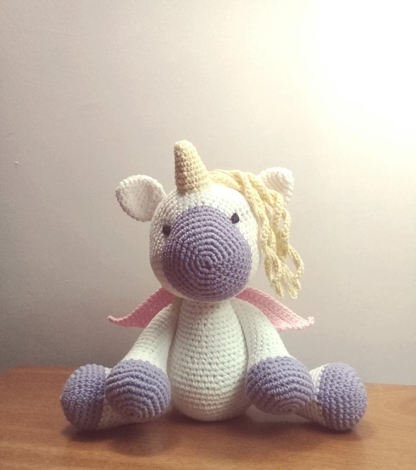 unicornio Con alas