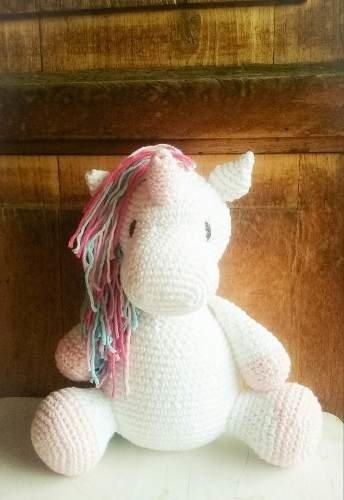 Muñecos Tejidos Unicornio