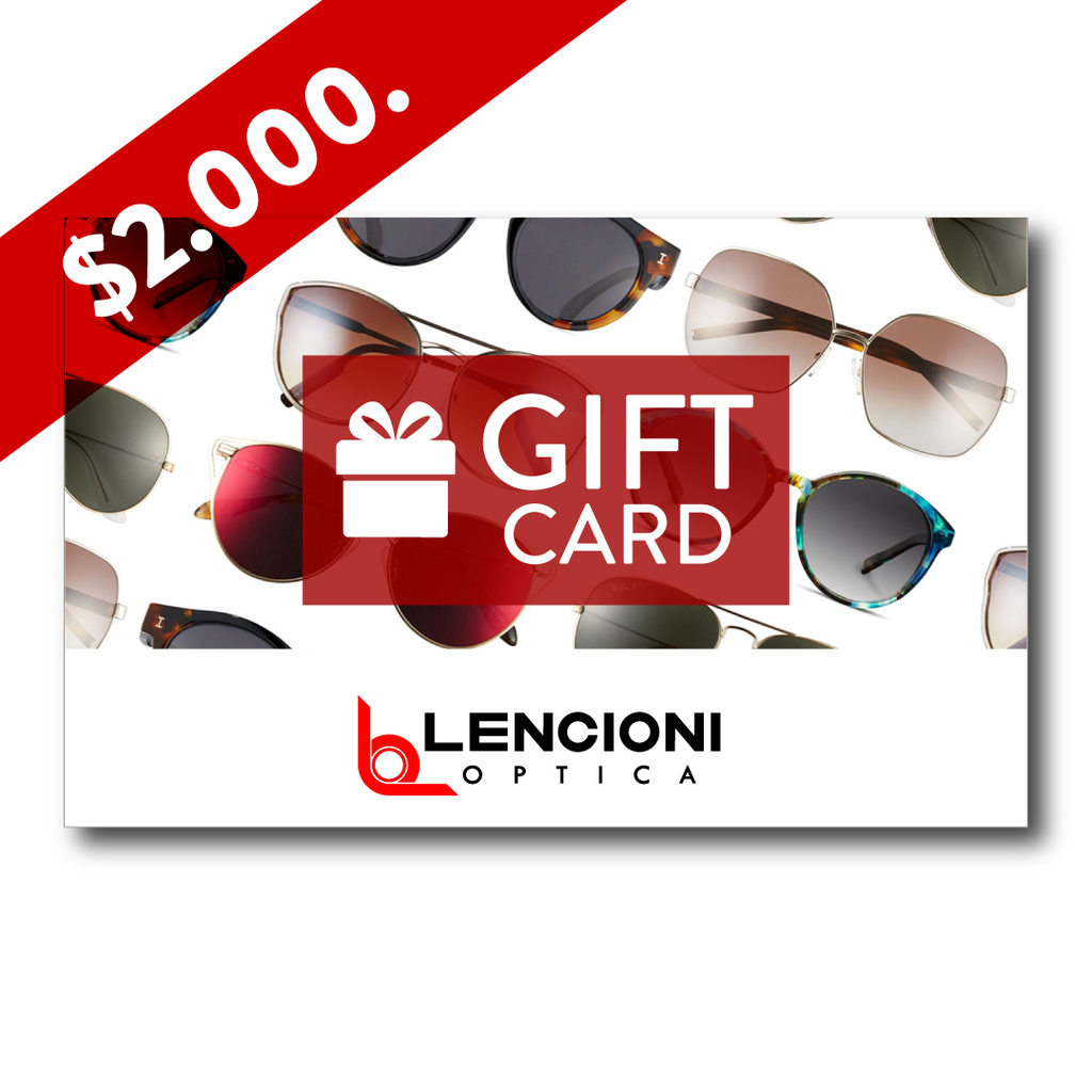 Gift card 2.000.