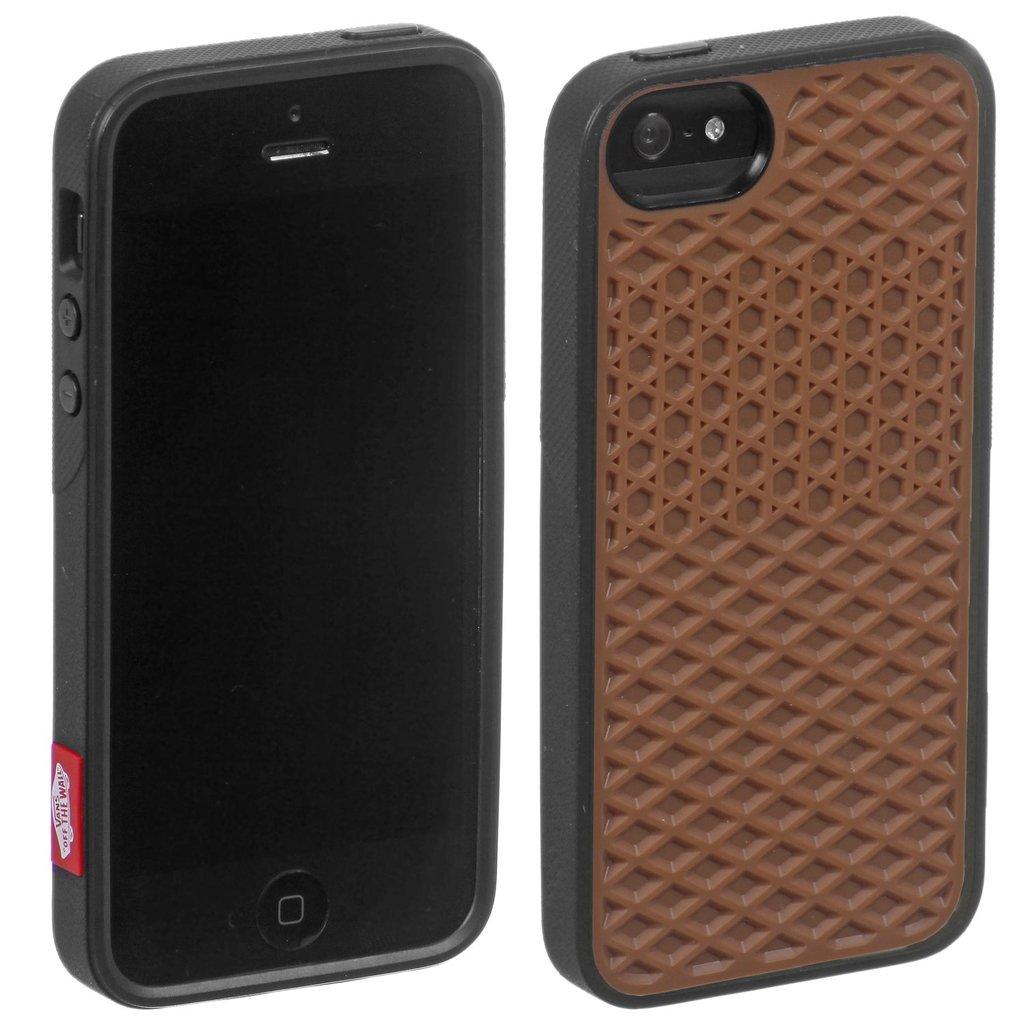 Case - VANS - Preto/Marrom (Iphone 5 - 5S) - FOLS CASES